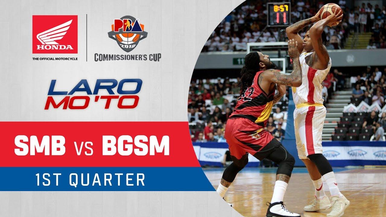 Finals G6: San Miguel vs. Ginebra - Q1 | PBA Commissioner's Cup 2018