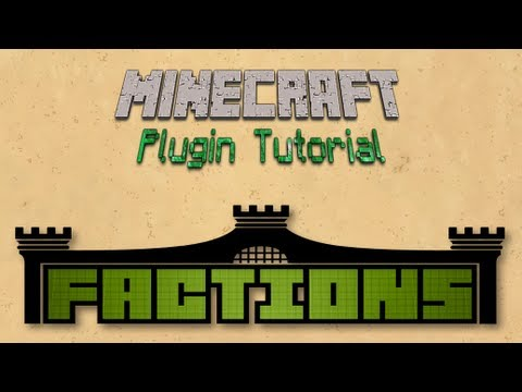 Minecraft: Factions Plugin Tutorial! (1.5.2)