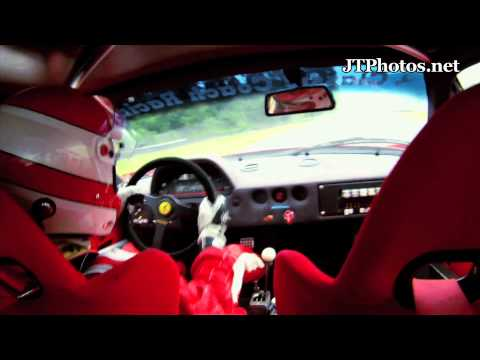 Ferrari F40 LM In Car Footage