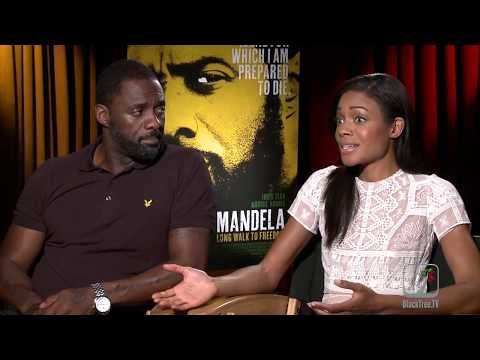 Idris Elba and Naomie Harris on pressure of shooting in South Africa | Mandela Long Walk to Freedom