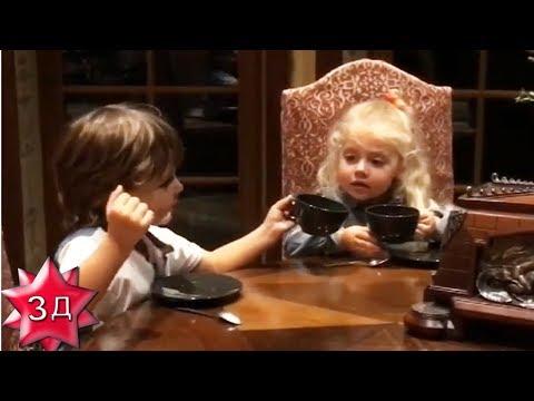 ДЕТИ ПУГАЧЕВОЙ И ГАЛКИНА: Лиза и Гарри беседуют за чашкой чая! Новое видео!