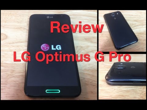 Review LG Optimus G Pro  - Análisis completo