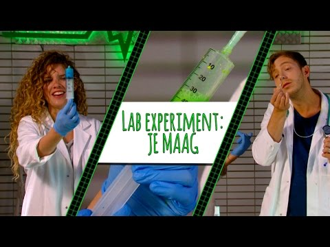 GROENE MELK UIT DE MAAG VAN ELBERT?! - LAB EXPERIMENT