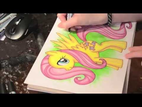 Speed painting MLP 5 of 6 - Fluttershy