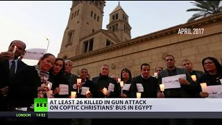 Children Among Dozens Killed in Attack on Coptic Christians' Convoy in Egypt