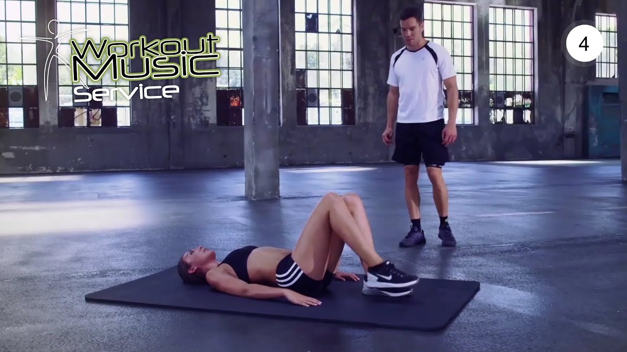 Workout Tutorial 04 - Butt Lift Workout For A Sexy Booty Own Bodyweight