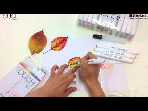 Как рисовать маркерами touch new