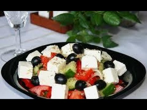 Греческий рецепт салата с