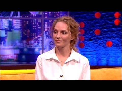 """Uma Thurman"" On The Jonathan Ross Show Series 6 Ep 7.15 February 2014 Part 4/5"