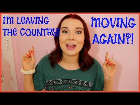 I'M LEAVING THE COUNTRY!! + Moving Again!? (April Q&A)