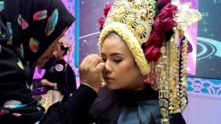 VIDEO Lomba Make Up Pengantin di Acara Wedding Festival 2016