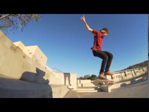 Nollie 360 Hardflip 4 Block - Jeff DeChesare
