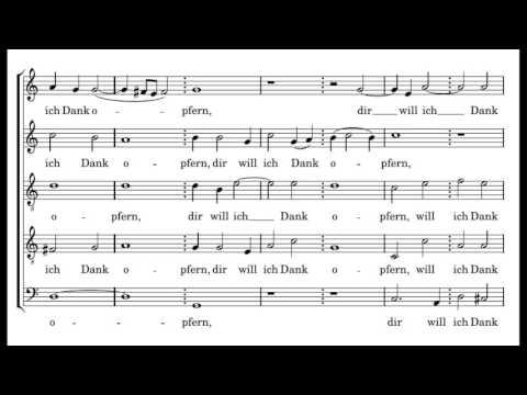 Johann Hermann Schein - Israelsbrünnlein O Herr, ich bin dein Knecht