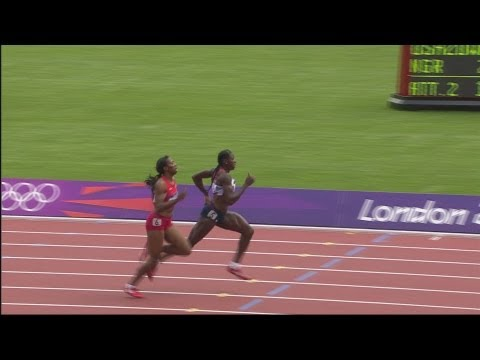 Athletics Women's 400m Round 1 - Full Replay -- London 2012 Olympic Games