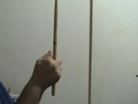 Cómo girar las baquetas