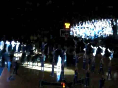 UT v. UK Basketball 2009: CATS starting lineup, the return of Patterson Video