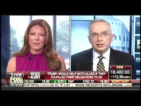 Ralph Peters battles Fox Business host after calling Trump's NATO remarks 'destructive and idiotic'