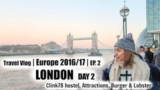 Clink78 Hostel Tour | Travel Vlog | London Day 2 | Sylvia Cing