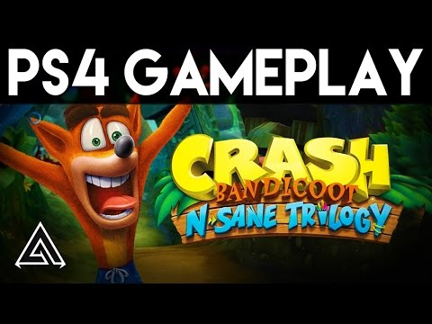 Crash Bandicoot N Sane Trilogy NEW PS4 Gameplay