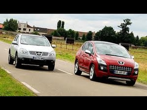 Peugeot 3008 Vs Nissan Qashqai Youtube