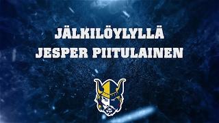 Jälkilöylyllä Jesper Piitulainen