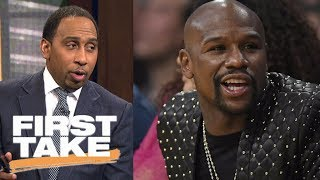 Stephen A. breaks news that Floyd Mayweather will not return for another fight | First Take | ESPN