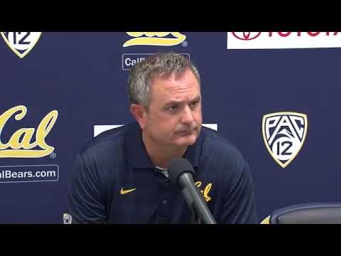Cal Football: Sonny Dykes - Arizona Post Game (9/20/14)