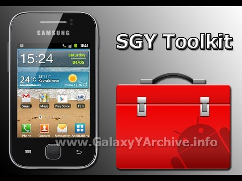 SGY Toolkit for Samsung Galaxy Y GT-S5360 Review