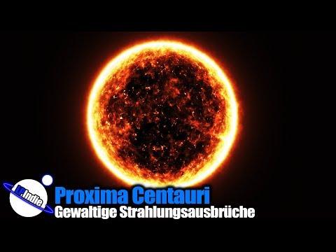 Proxima Centauri: Gewaltige Strahlungsausbrüche