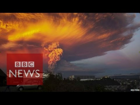 The Calbuco volcano in southern Chile has erupted for the first time in more than four decades. Authorities said no hot rocks or lava had been seen so far, only ash. Chile has the second largest chain of volcanoes in the world after Indonesia, with around 500 that are potentially active. Gideon Long reports.  Subscribe to BBC News HERE http://bit.ly/1rbfUog Check out our website: http://www.bbc.com/news  Facebook: http://www.facebook.com/bbcworldnews  Twitter: http://www.twitter.com/bbcworld Instagram: http://instagram.com/bbcnews
