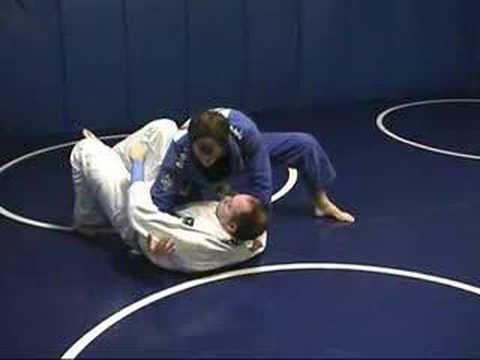 Knee on Belly Escape - Collar Grab Image 1