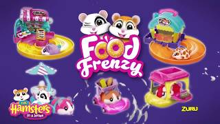 Hamsters in a House Food Frenzy Ultimate Unboxing! | New Cute Toys for Girls