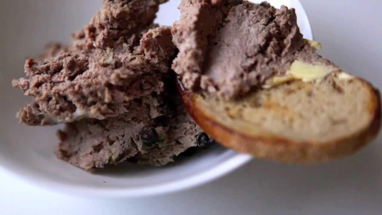 Рецепты печеночного паштета из свиной печени в домашних условиях 422
