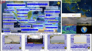 Live Seismogram Indonesia Volcano Monitoring #Official crew