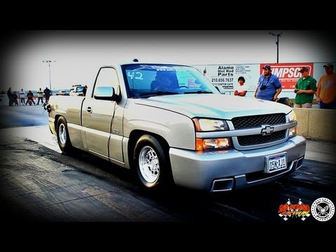 SEXY SS Silverado TEST n TUNE run at SAN ANTONIO RACEWAY