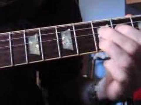 Clases de Guitarra - (21) - Rock & Roll para Muñones: Blues en La