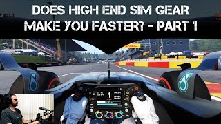 Logitech vs. FANATEC - Does High End Simulator Gear make you Faster? - Part 1