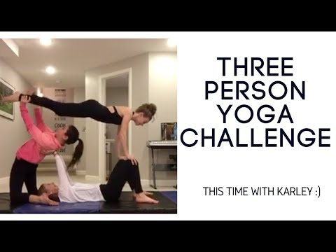 3 Person Yoga Challe