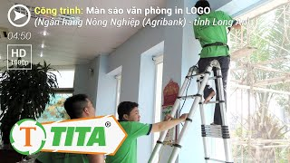 Rèm Văn Phòng Motor Tự Động ngân hàng AgriBank