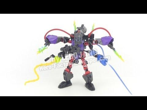 Hero Factory Stringer + Voltix combiner REVIEW (Breakout wave 2)