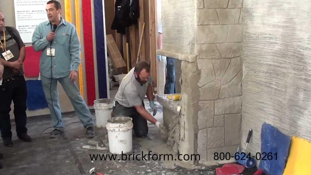 Vertical Concrete Mix Brickform Vertical Concrete
