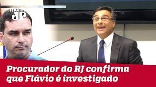 Procurador-Geral de Justiça do RJ confirma que Flávio Bolsonaro é investigado na esfera cível