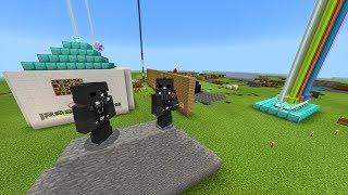 Invadimos o Mundo da Textura LUCKY BLOCK no Minecraft - EP 06