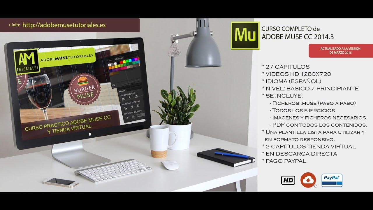 Adobe Muse cc 2015 Adobe Muse Tutoriales   Curso