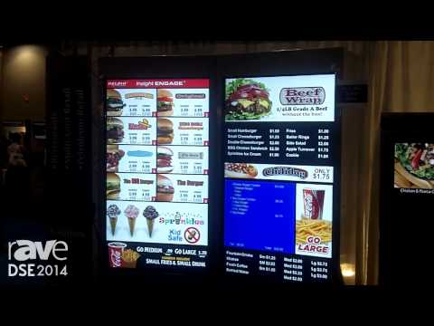 DSE 2014: Delphi Display Systems Shows Its New Modular Outdoor Digital Menu System