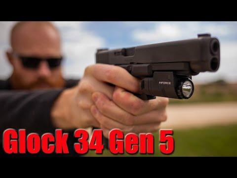 Glock 34 Gen 5 MOS 1000 Round Review