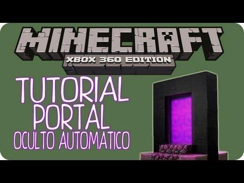 MineCraft Xbox360 - Tutorial Portal Al Nether Oculto Automatico