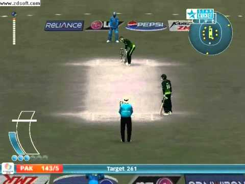 Six 6s Of One Over By Jawad In Pc.game Against India In Worldcup.wmv video