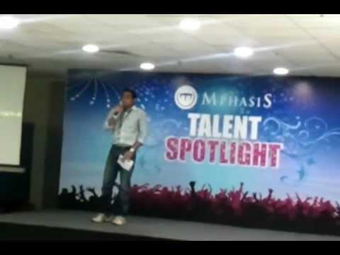 Mphasis Talent Show Tamil Actors Mimicry Ganesh