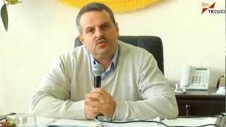 Tecuci - Primarul Eduard Finkelstain - video comunicat